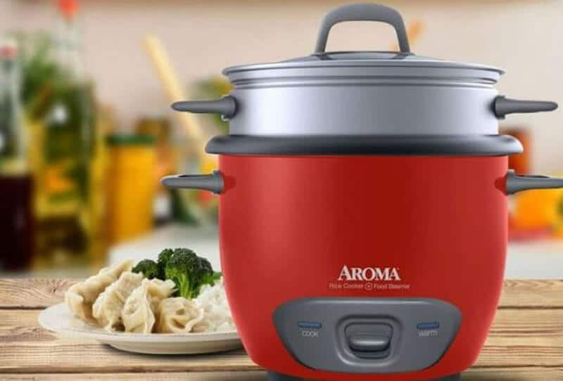 Aroma Housewares 8-Cup Rice Cooker and Steamer (ARC-914SBD)