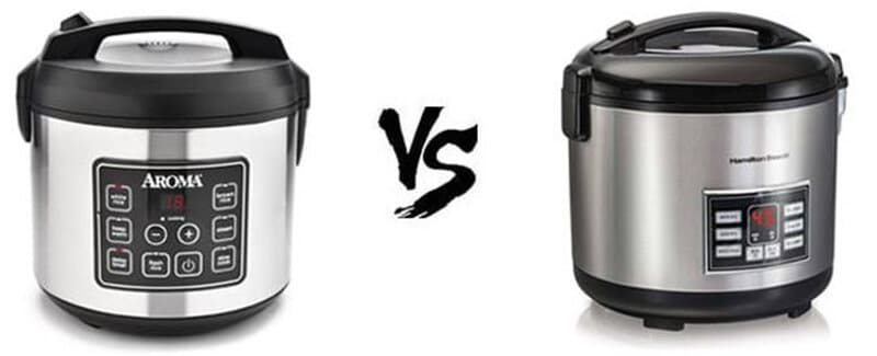 Aroma Vs Hamilton Beach Rice Cooker - Which is Better