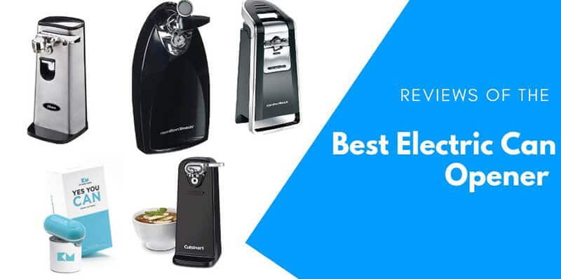 Best Electric Can Opener 2020 Top Full Review, Guide