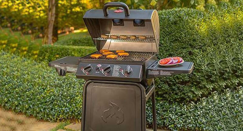 Most sufficient 3-Burner Grill