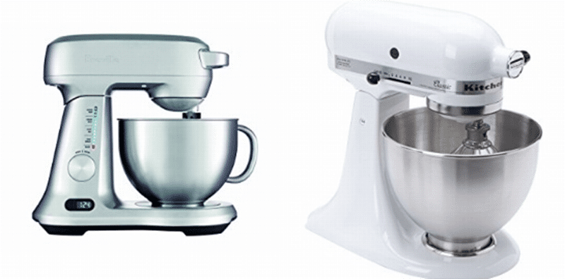 Breville vs Kitchenaid Mixer Comparison 2021