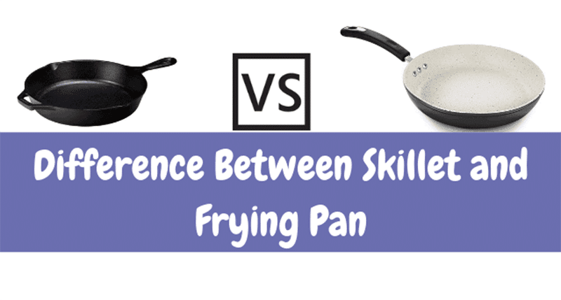 Difference between frying pan vs skillet