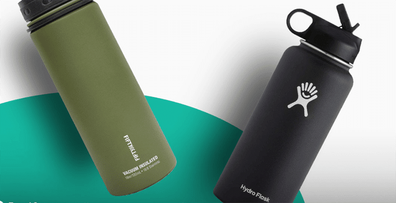 Fifty Fifty Vs Hydro Flask Comparison
