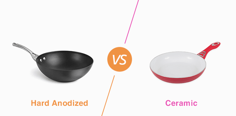 Hard Anodized Vs Ceramic - Which Cookware Is Better