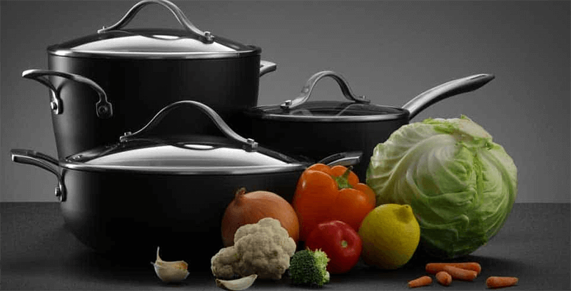What is hard-anodized cookware