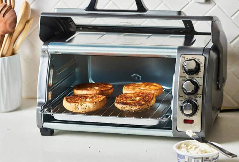 What is the cooking and heating purpose of a toaster