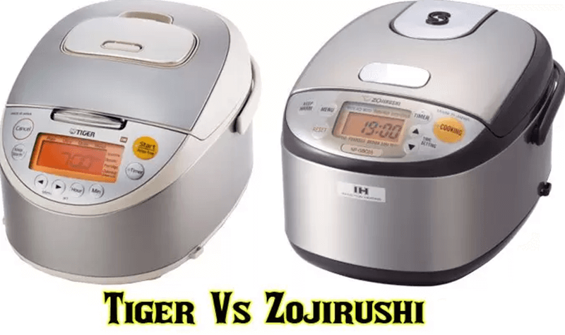 Zojirushi Vs Tiger Rice Cooker - Difference Between Their Features