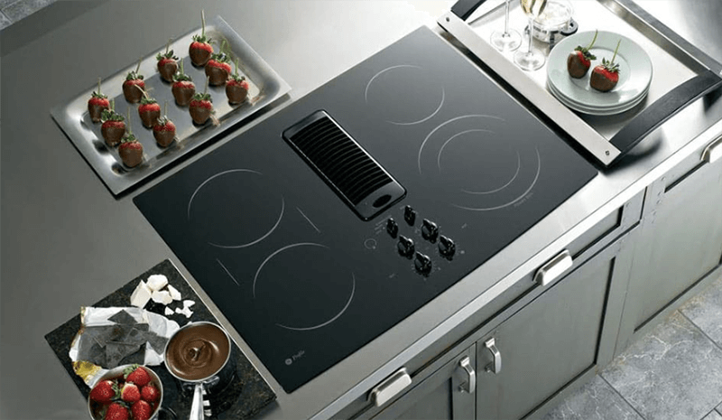 What is the Electric cooktop