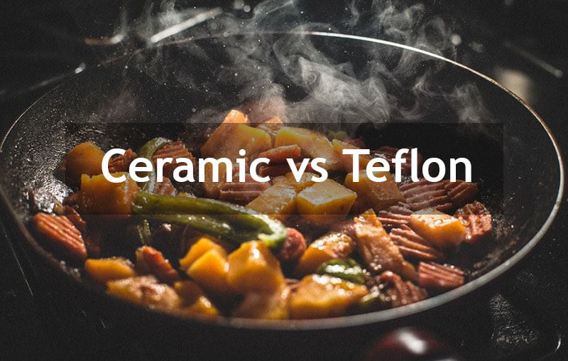 Ceramic vs Teflon Frying Pans - What is the difference