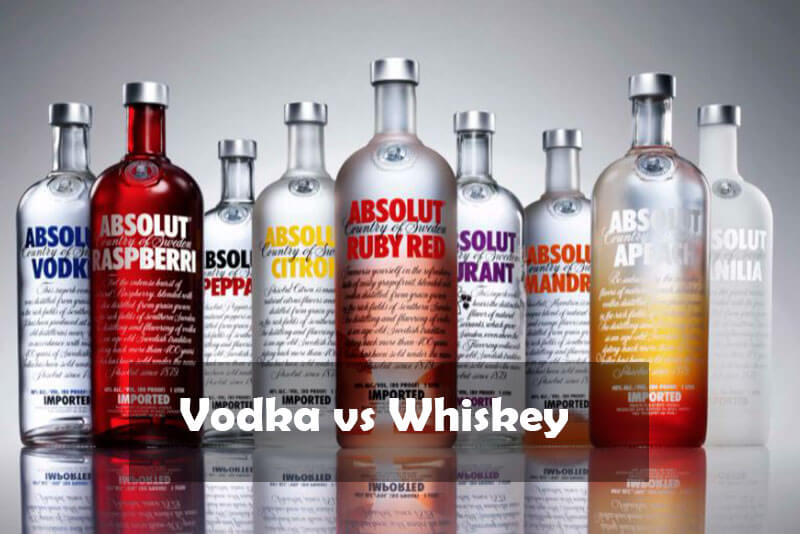 Difference Between Vodka vs Whiskey - 2021