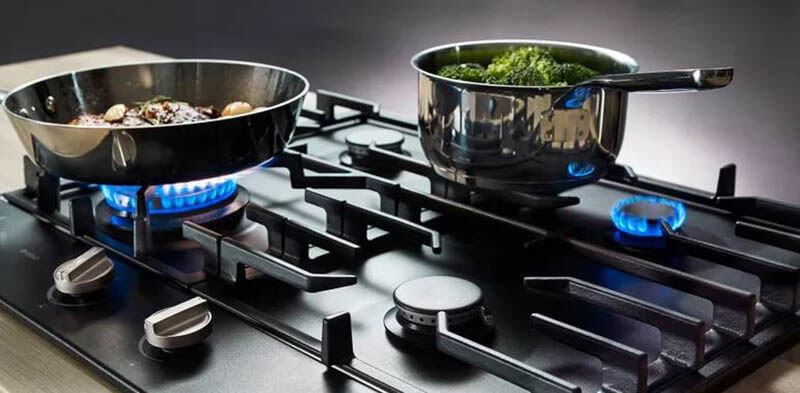 Gas Cooktops - Inexpensive Maintenance