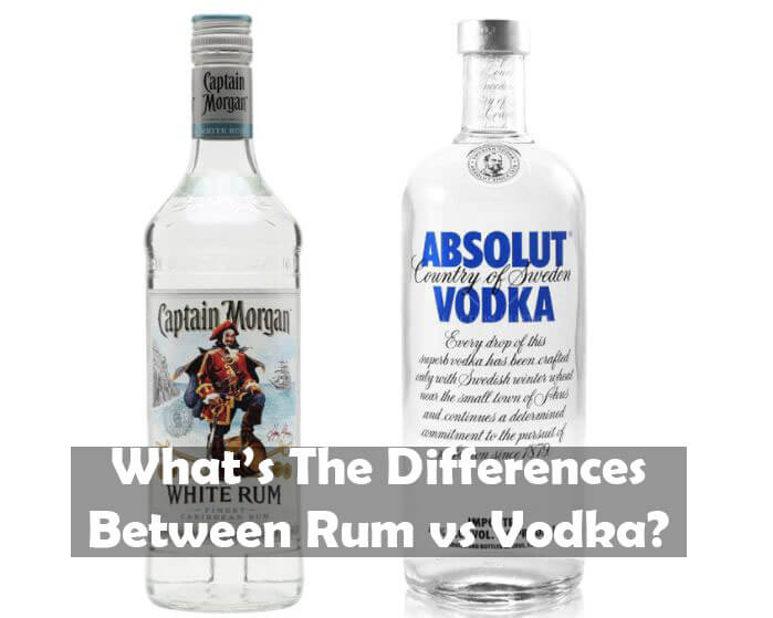 What Are The Differences Between Rum vs Vodka