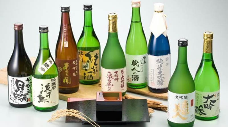 What are the types of sake